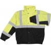 Class 2 Lime/Black Bomber Jacket – Extra Large