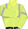 Class 2 Lime Lightweight Bomber Jacket – 2X Large