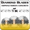 Asphalt/Green Concrete Diamond Blades