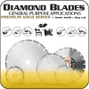 General Purpose Premium Diamond Blades