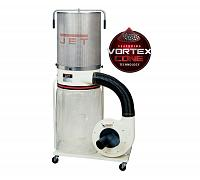 Jet DC-1200VX-CK3 Dust Collector, 2HP 3PH 230/460V, 2-Micron Canister Kit