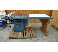 "Jet 10 inch Tablesaw 5 HP 3PH 52"" Cut"