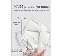KN95 Face Mask - Sanitary Pack of 2Pcs