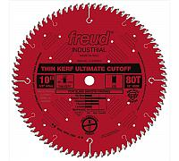 "FREUD LU74R010 10"" Thin Kerf Ultimate Cut-Off Blade"