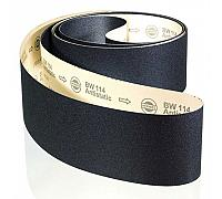 "Hermes BW 114 Wide Belts (5 belts per unit) - 36"" x 75"" 150 Grit"