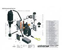 Unibor P-30046 Oil Cup Assemble