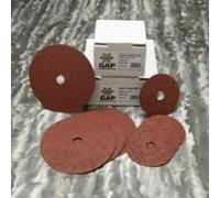 "Global Abrasives C-Type A/O Resin Fiber (25 per unit) - 7"" x 7/8"" 60 Grit"
