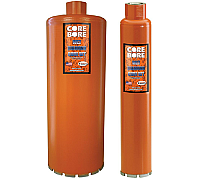 "Diamond Products 04809 1"" H.D. Orange Wet Core Bit"