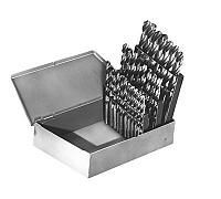 25 Piece Metric Set - Straight Shank - Black Oxide