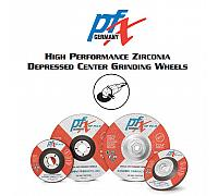 "PFX HP Pipeline Zirconia Grinding Wheel (10 per Box) - 4-1/2"" x 1/8"" x 5/8-11"""