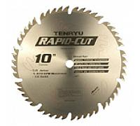"Rapid Cut Series 10""Dia. 40 Tooth 5/8"" Arbor , Premium Heavy Duty, Industrial, Multi-Purpose Blades"