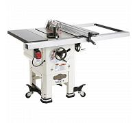 "Shop Fox W1837—10"" 2 HP Open-Stand Hybrid Table Saw"